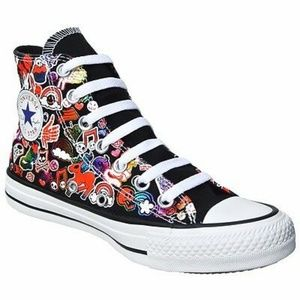 Converse high topt my little pony shoes size 6